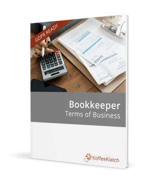 Bookkeeper terms of business