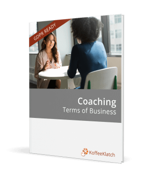 Coaching terms of business